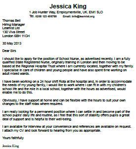 Sample voice over cover letter
